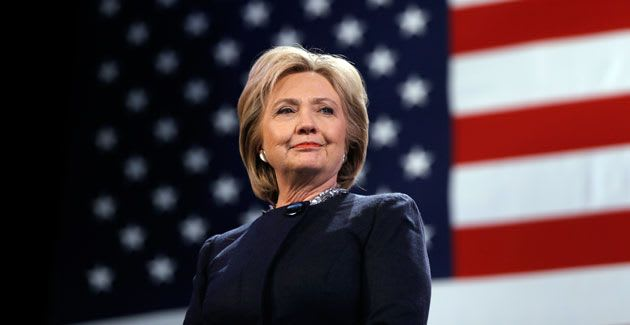 Hillary Clinton won the popular vote in a historic landslide