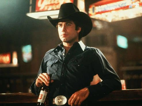 When Bud Davis (John Travolta) moves to Houston he hoped to earn enough money to buy some land back home in Spur, Texas. He winds up getting into a mechanical-bull riding competition, and falling in love with a girl named Sissy. Travolta is great in this movie, and again his on-screen chemistry with Debra Winger (Sissy) is magnificent!