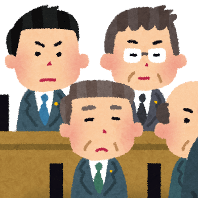 委員会室のヤジ