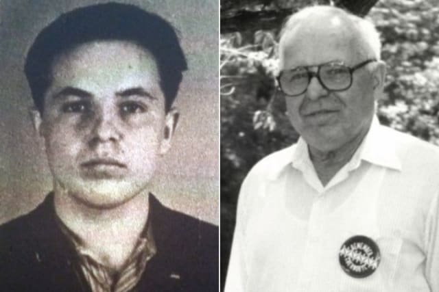 The picture on the left is the one he used to apply for German Citizenship