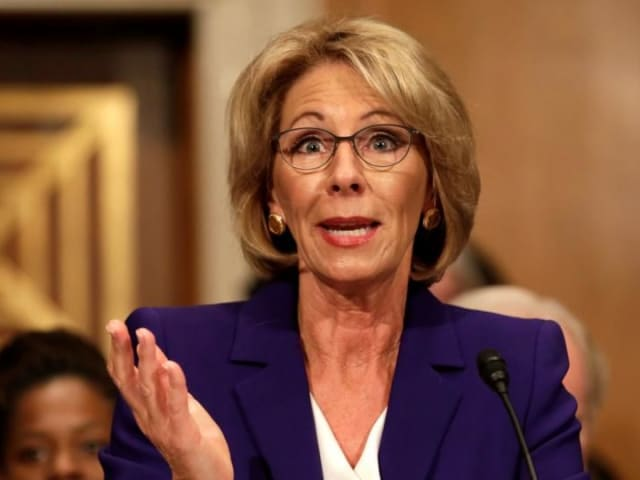 Many have question DeVos's credentials