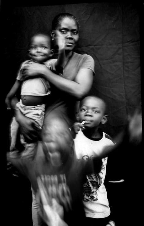 After losing their home in Hurricane Matthew, Caceus and her children, Miguel and Lilliam, emigrated to Brazil. From there they have come to the border between the U.S. and Mexico. She and her husband have decided not to try to cross the border for fear of being deported back to Haiti.