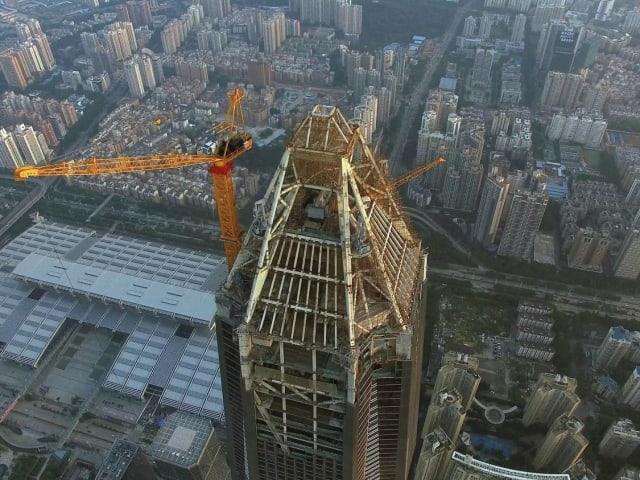 Финансовый центр Пинань, Шэньчжэнь, 599 метров