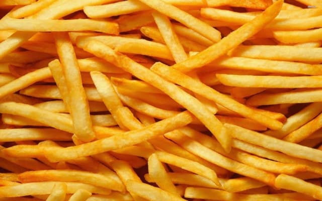 I still eat crisps and fries ... but what we want to do is prepare these foods so the risks are minimized. Color is a good guide. It's the only guide you have in your home.