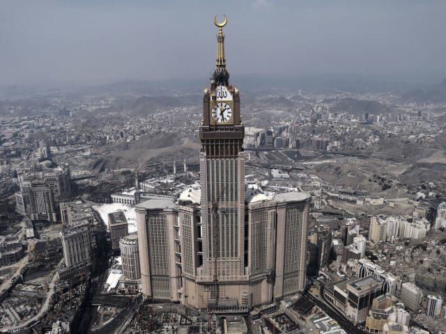 Арбадж аль-Бейт, Мекка, 601 метр (самый высокий отель в мире)