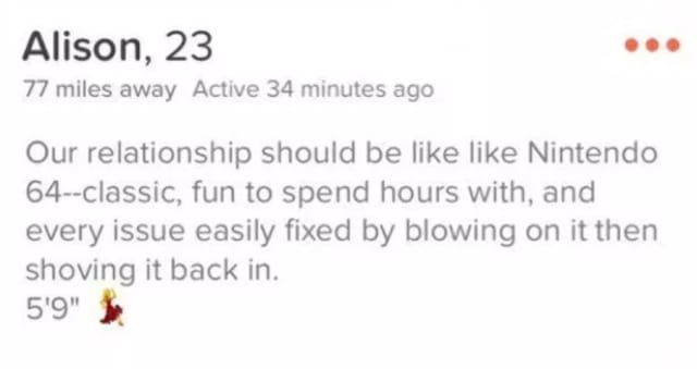 10 hilariously cringeworthy Tinder bios that are so bad they could