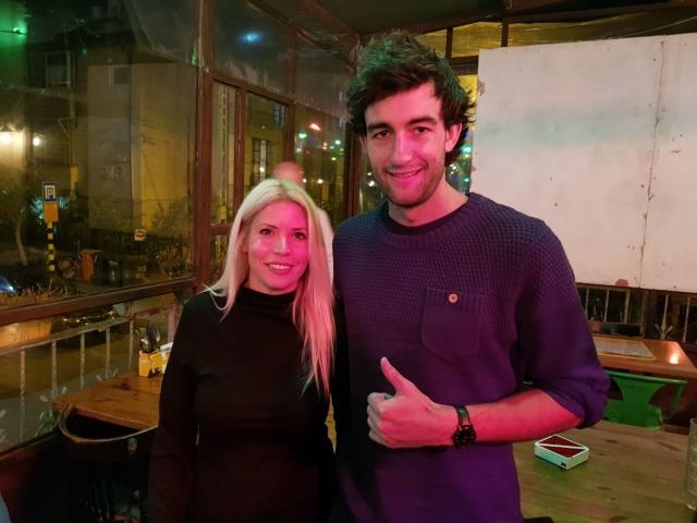 טים קולמן אושיית אינדורו מהטובים בעולם בימי הדרכה בישראל - יחד עם רונה באירוע התרמה לניצולי שואה