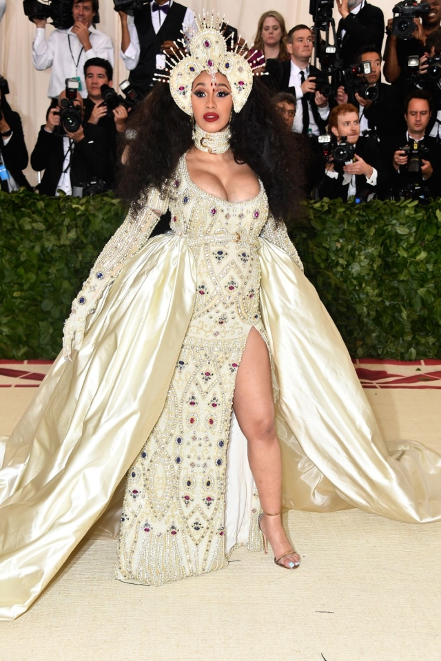 a2d35f17a0c4 This year, the theme at the Met Gala, was Heavenly Bodies: Fashion and the  Catholic Imagination, which meant that celebs hit the carpet looking like  ...