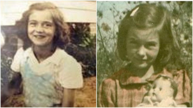 Betty June Binnicker y Mary Emma Thame.-