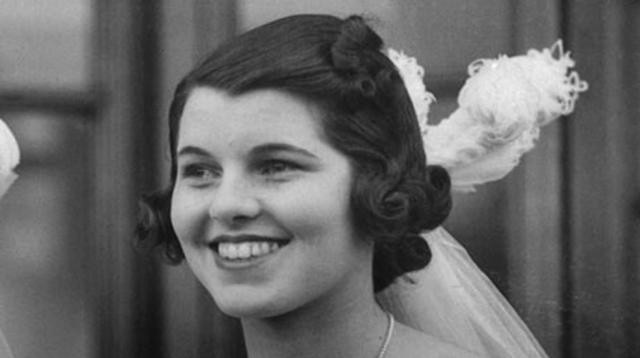 Rosemary Kennedy 3 años antes de que le realizaran la lobotomía.-