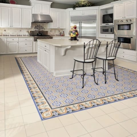 Five beautiful patterned kitchen floor tiles to inspire your ...