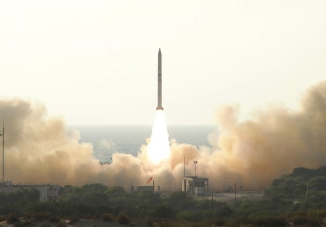 The launch of the Ofek 11 spy satellite