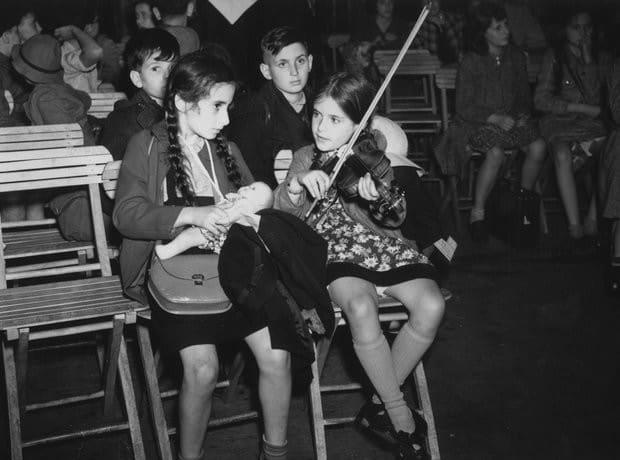 Los instrumentos con los que contaba la orquesta eran propiedad de los judíos.
