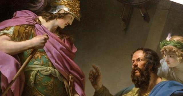 Algunos historiadores comparan la relación entre Sócrates y Alcibíades con Erastés y Erómeno, una relación pederástica en la que ambos mantenían relaciones sexuales frecuentes, siendo alumno y maestro. Guía y aprendriz.