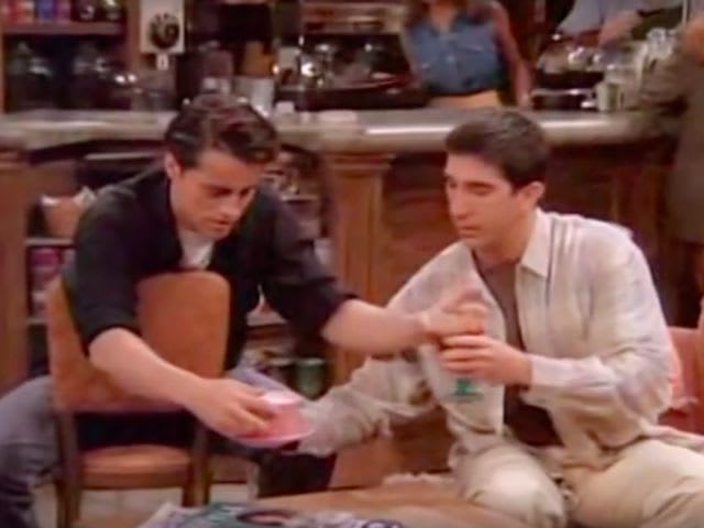 What advice does Joey offer Ross to get over his divorce?