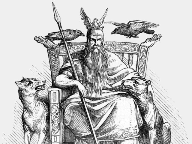 Who is considered the king of the Norse gods?