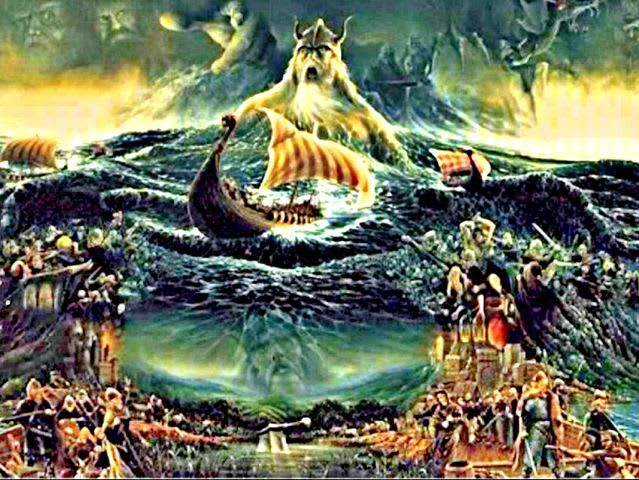 Aegir is the Norse god of the sea!