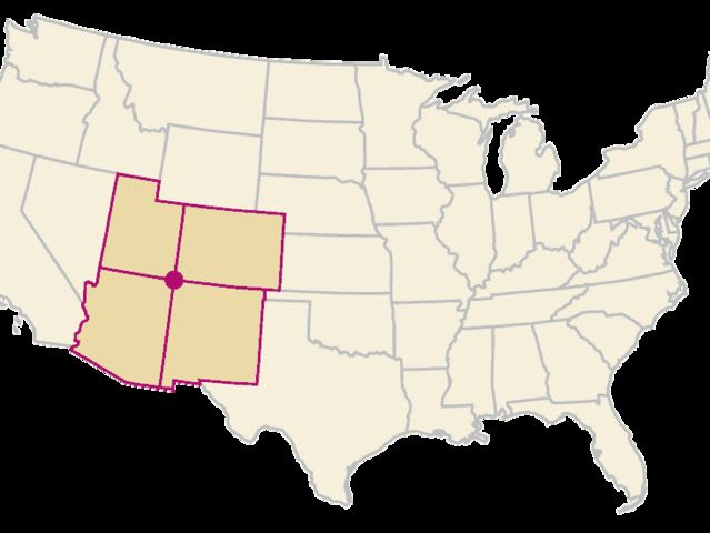 "The ""Four Corners"" region of the U.S. is comprised of Utah, Arizona, New Mexico and ______."