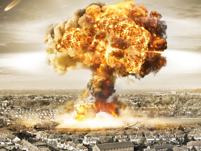 On what Japanese cities was the nuclear bomb dropped in World War 2?