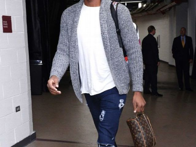 Which NBA player isn't afraid to rock the cardigan?