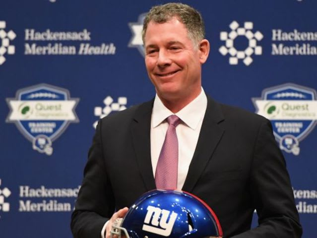 Who is the New York Giants new head coach?