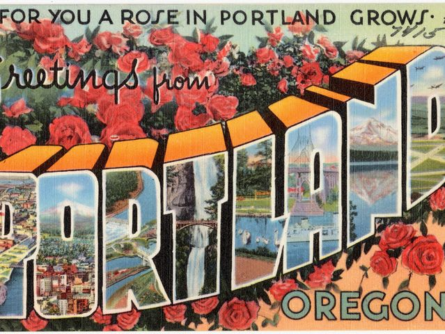 Salem is the capital of Oregon, not Portland!