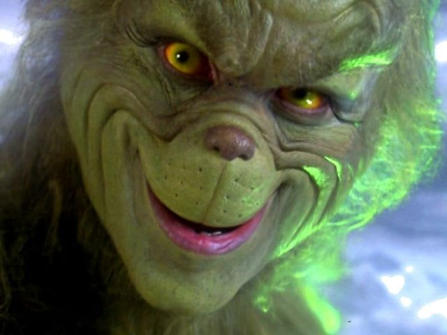 What food did the Grinch eat raw?