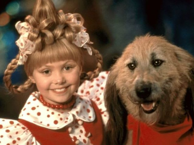 What song does Cindy Lou Who sing in the movie?