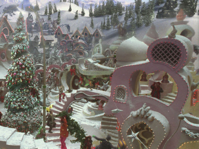Whoville is located inside a snowflake!