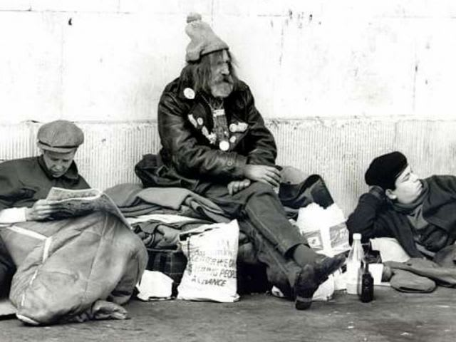 Homeless Hal seems a group of homeless people and decides to sleep there, what should he be worried about the most?