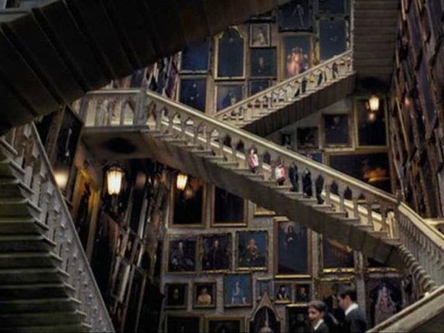 Hogwarts has 77 staircases.