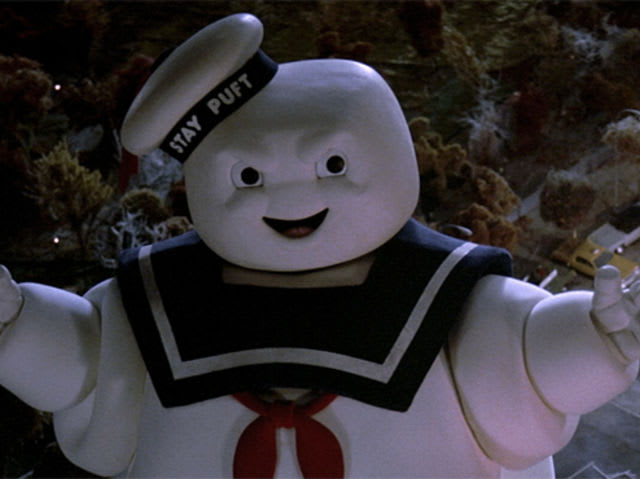 Why does the Stay Puft marshmallow man attack?
