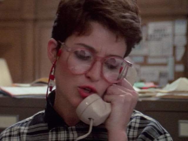 Which actress played the Ghostbusters' secretary Janine?