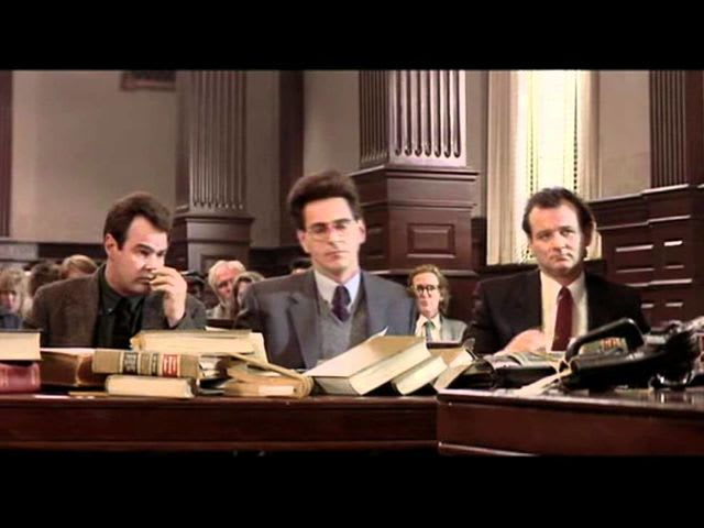 In Ghostbusters 2, how do the guys escape criminal charges?