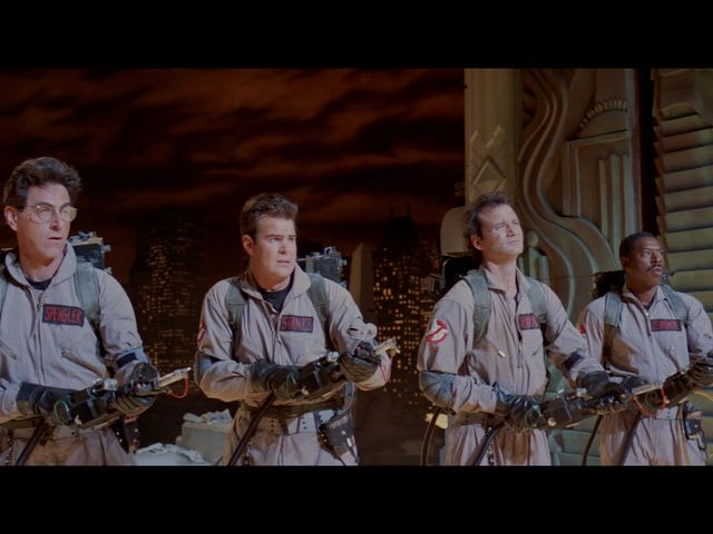 What are the weapons the Ghostbusters use?