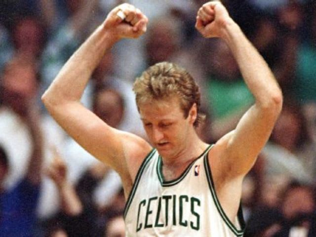 In game 5 of the 1987 Eastern Conference Finals, when Larry Bird famously stole the ball, who did he pass it to for the game-winning layup?
