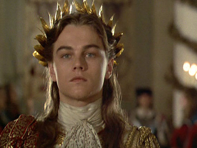 "Which French monarch was replaced in ""The Man in the Iron Mask""?"
