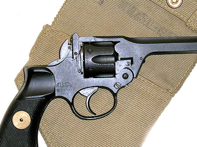 Answer: It is a type of handgun, but much more specifically - it is a Revolver.