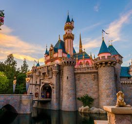 Disneyland in California!