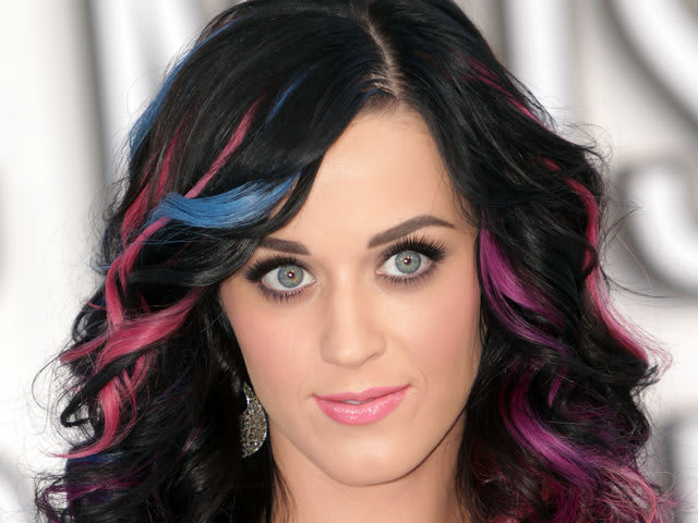 The colourful Katy Perry