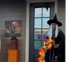 A Life-Sized Witch