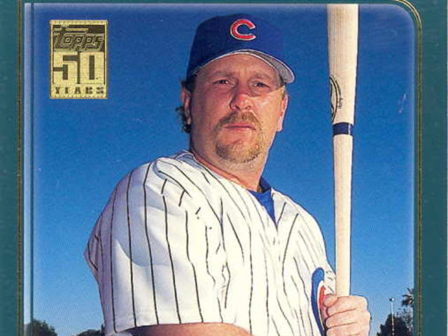 Stairs played with the Cubs in 2001