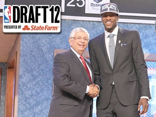 This player managed to go 2nd overall in the 2012 NBA Draft?