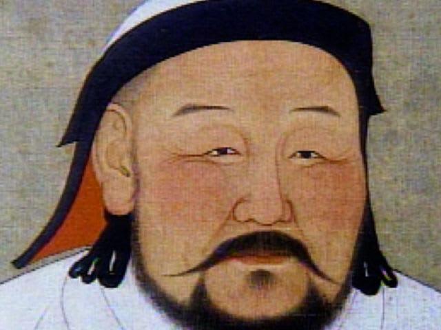 Genghis Khan artwork