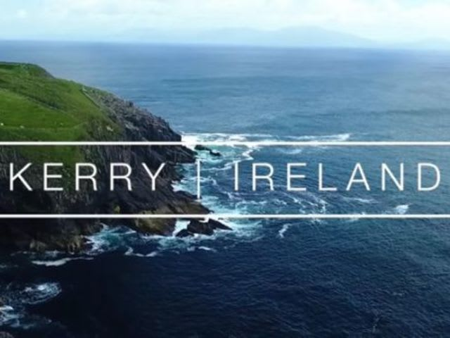 What is the county town of Kerry?