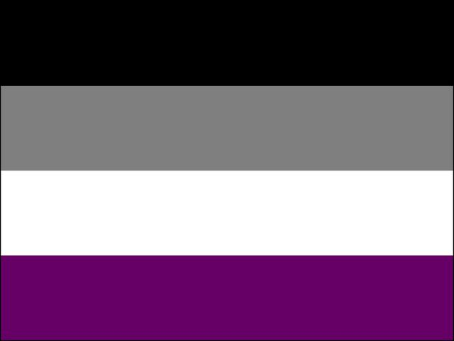 This is the Asexual Pride flag