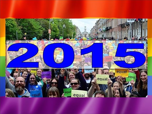 2015 became the year in which LGBT couples all over America would, legally, be allowed to marry! Happy days!