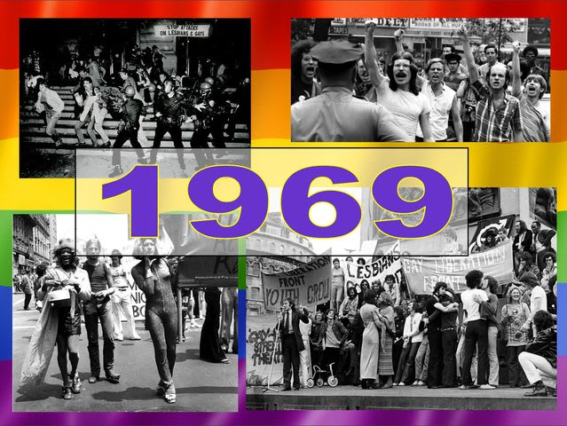 1969 is the year in which LGBT people had grown sick of the oppression and decided to make a stand against the narrow-minded bigotry!