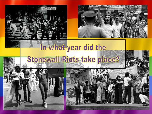 In what year did the Stonewall Riots take place?