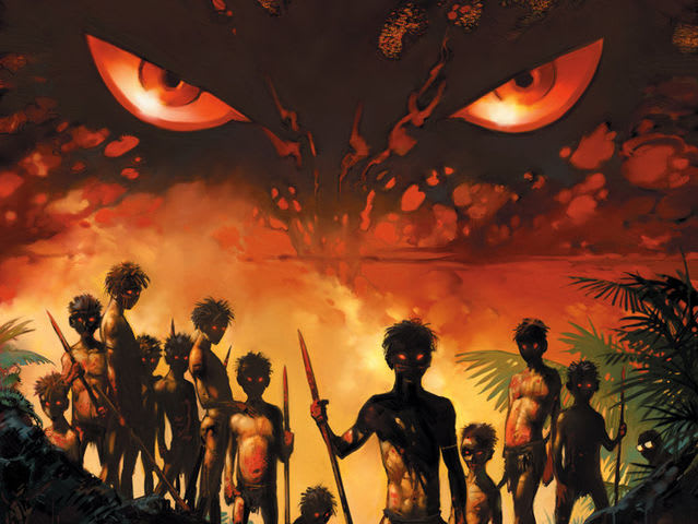 an overview of the different themes in the novel lord of the flies by william golding